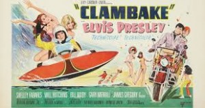 Elvis clambake poster