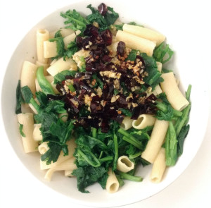Rigatoni _al Ajillo_ with Broccoli Rabe