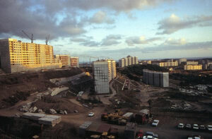 siberia apartment building