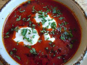 macedonian salmon soup